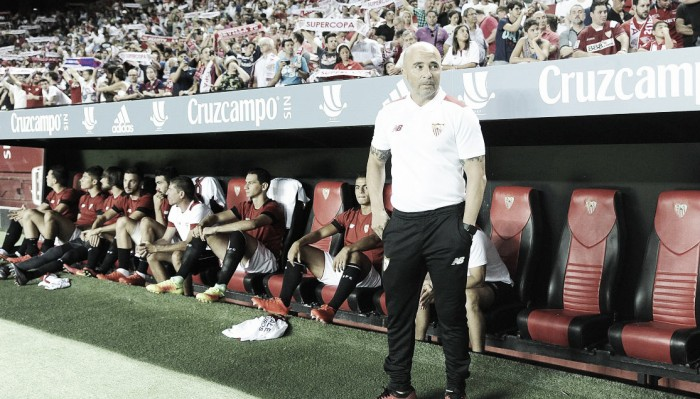 "Sampaoli analisa derrota para Barcelona: ""Mais entusiasmo que futebol"""