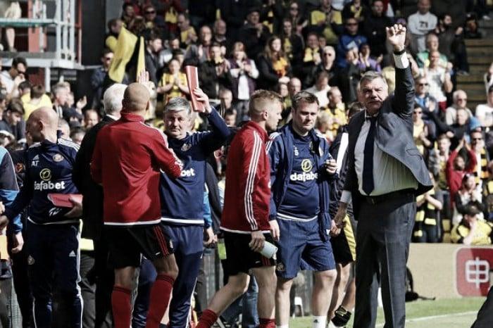 Sam Allardyce hails '12th man' as the reason for Sunderland's survival