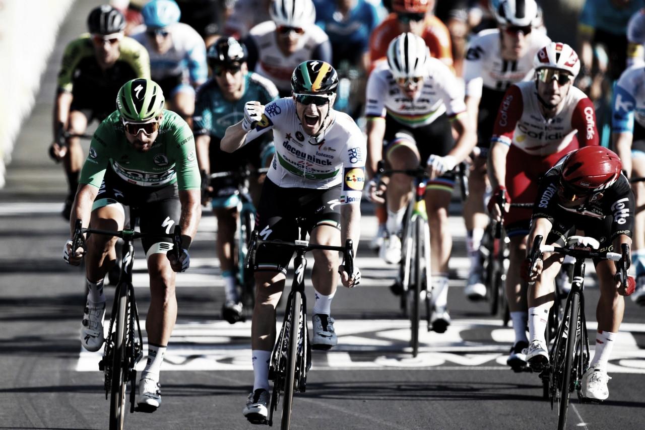 Sam Bennett se lleva la décima etapa del Tour 2020 al sprint