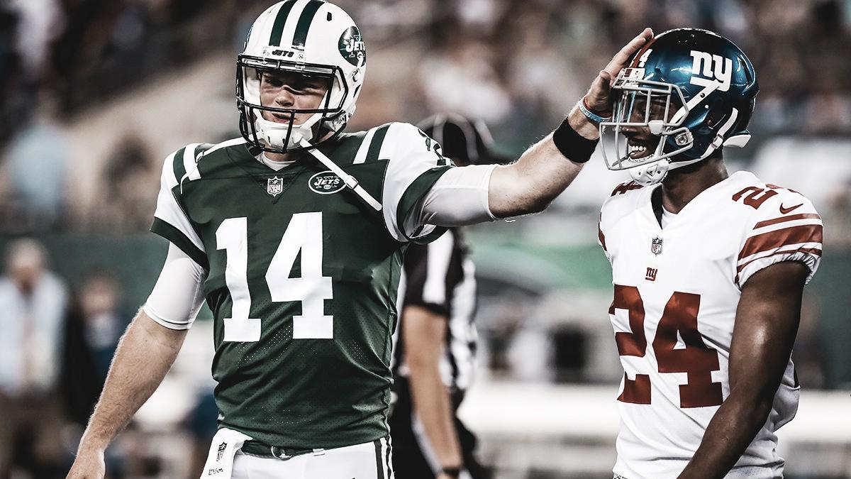 17-48. El novato Sam Darnold tiene debut triunfal con los Jets