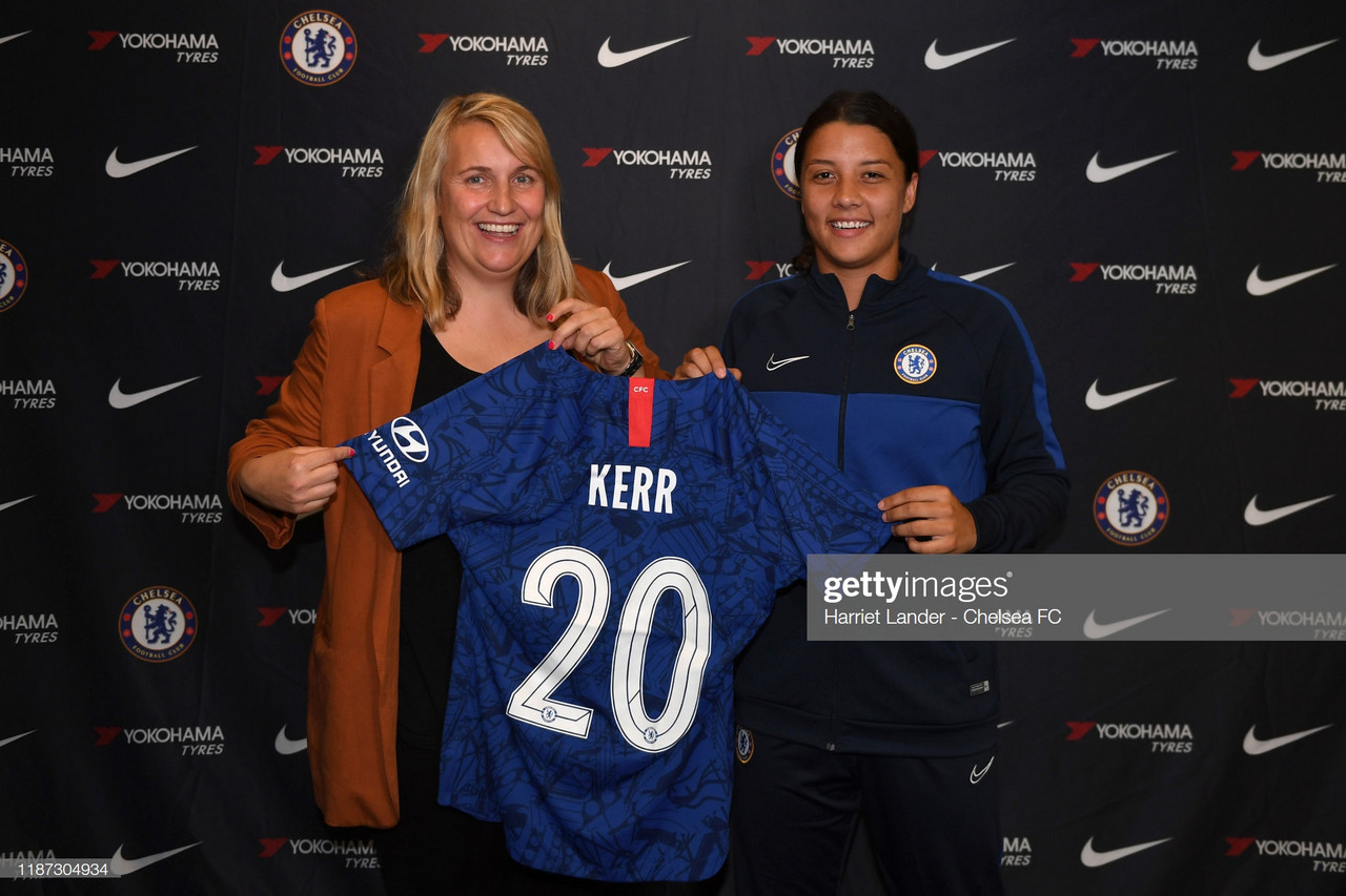 Sam Kerr's chance to prove herself in Europe has started