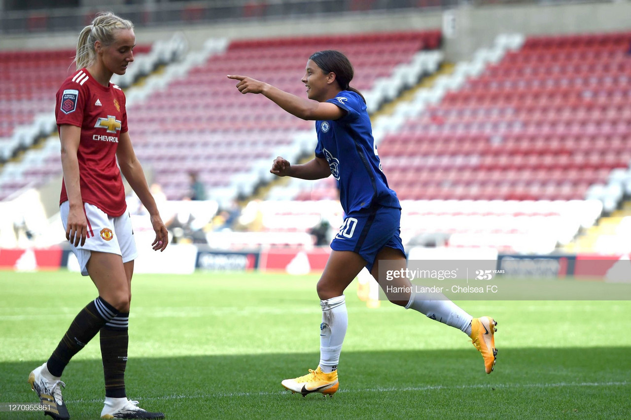 Manchester United Women 1-1 Chelsea FC Women: Champions held by Reds on opening weekend