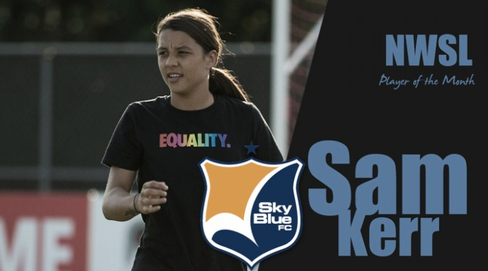 Sam Kerr named Player of the Month for the month of June