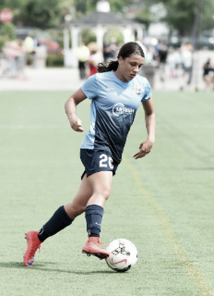 Samantha Kerr goal leads Sky Blue FC over North Carolina Courage