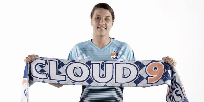 Sky Blue FC's Sam Kerr wins Julie Dolan Medal