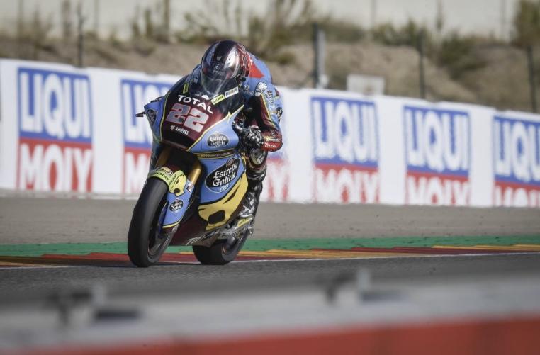 Sam Lowes en el Gran Premio de Teruel / Foto: motogp.com