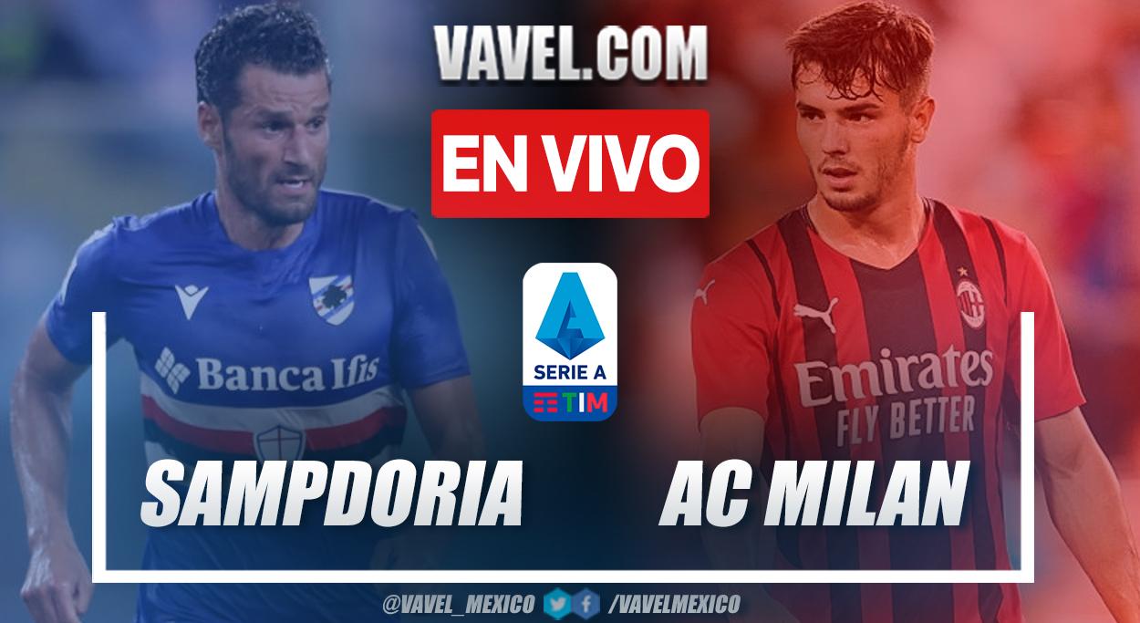 Resumen y goles: Sampdoria 0-1 AC Milan en la fecha 1 por Serie A 2021-22
