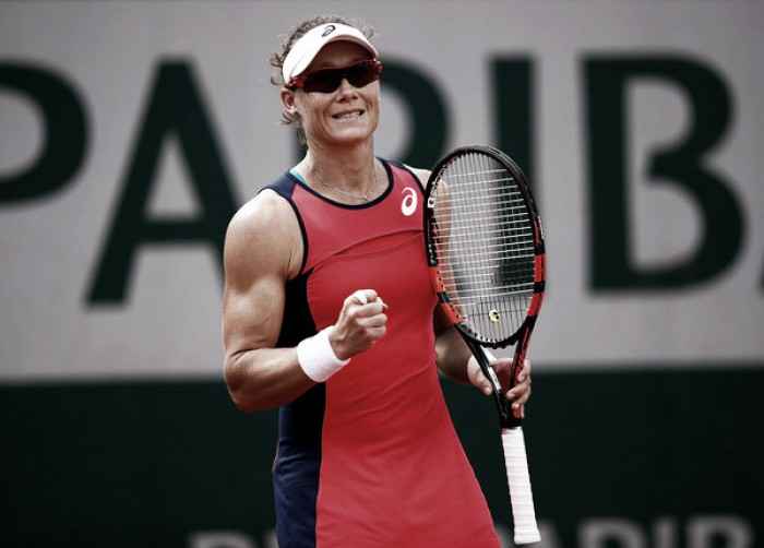 French Open: Samantha Stosur edges closer to another deep run