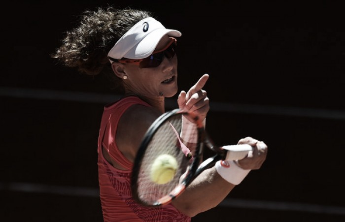 WTA Madrid: Samantha Stosur fends off tough challenge of Mariana Duque-Marino