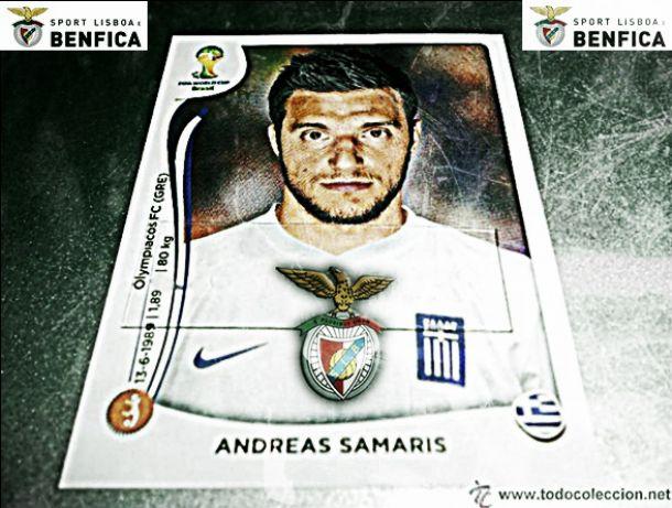 Samaris assina pelo Benfica e custará 9 milhões aos cofres da Luz