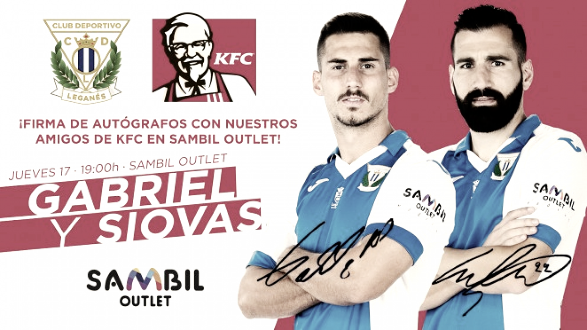 Gabriel y Siovas firmarán el jueves 17 a los aficionados