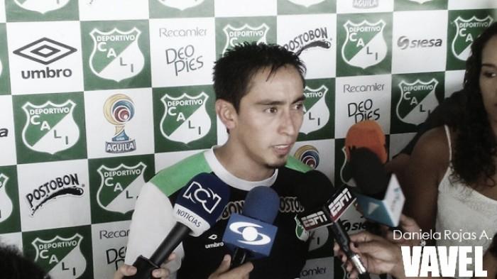 """Sambueza: """"Tengo ganas de quedarme, el club me gusta"""""""