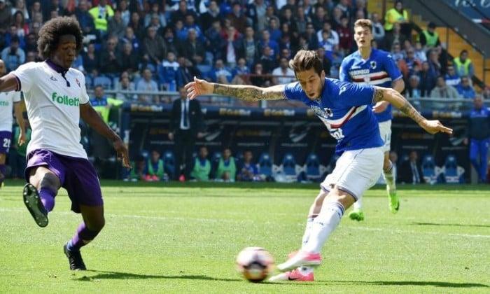 Serie A - Fiorentina, cosi' non basta: 2-2 contro la Sampdoria