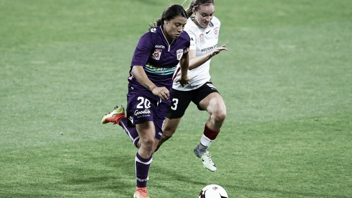Westfield W-League round one review: Sam Kerr takes Perth Glory to the top