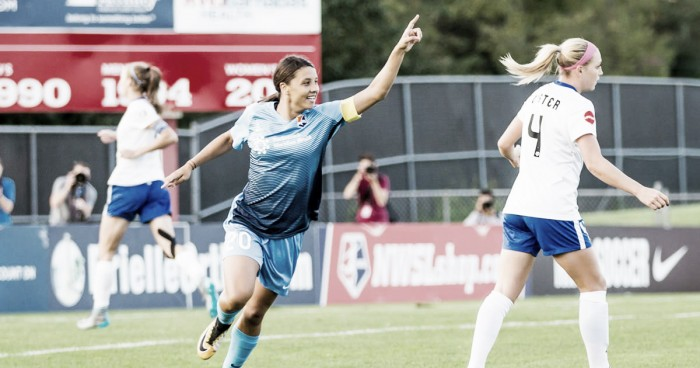 Sky Blue FC's Sam Kerr wins 2017 NWSL Golden Boot