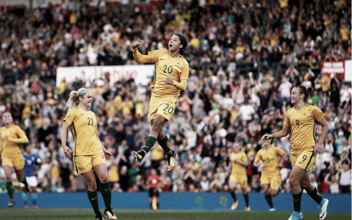 Six NWSL players called up for Australia's series against China
