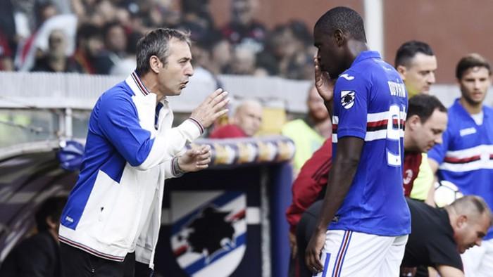 """Sampdoria, Zapata carica: """"Champions un sogno, Europa League alla portata"""""""