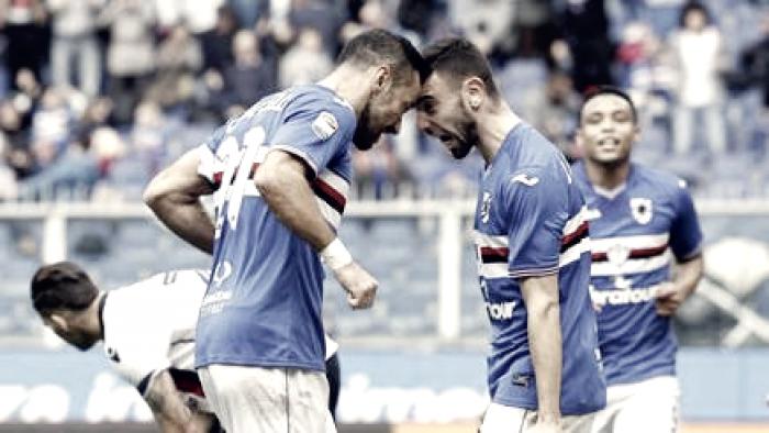 Sampdoria - Dopo il Cagliari, l'analisi di Giampaolo e lo sfogo di Quagliarella