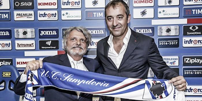 Serie A Sampdoria, Giampaolo all'esame Ferrero