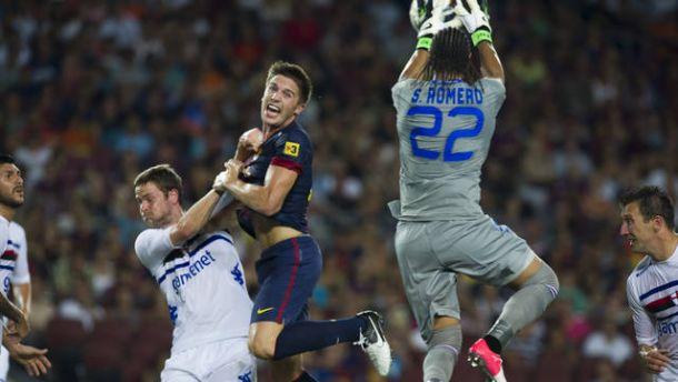 Trofeo Joan Gamper, duelos italianos: Sampdoria