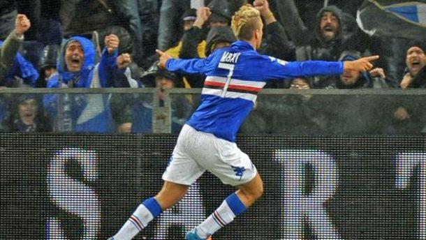 Maxi Lopez regala il derby alla Sampdoria