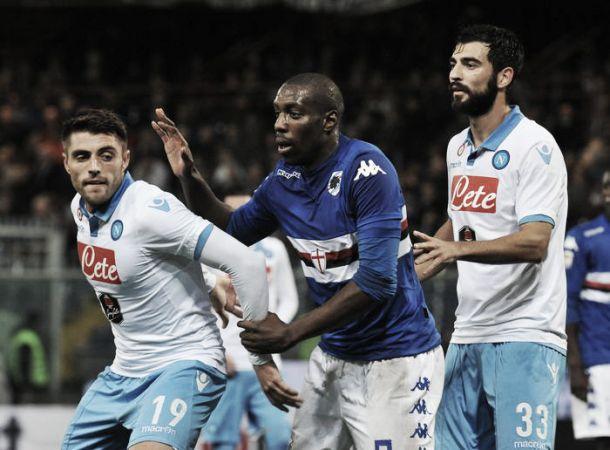 Diretta Napoli - Sampdoria in risultato partita Serie A (4-1)
