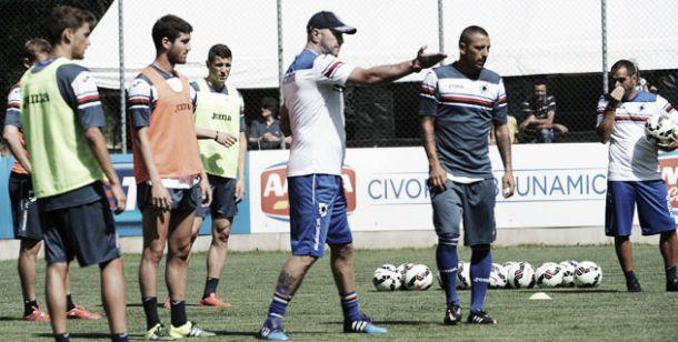 Samp, prima sgambata: 10 gol all'Alta Valle