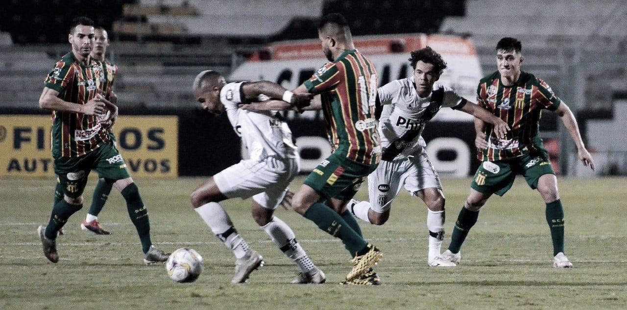 Com gol nos acréscimos do segundo tempo, Sampaio Corrêa vence a Ponte Preta
