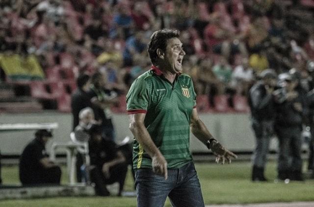 """João Brigatti elogia elenco do Sampaio Corrêa em vitória nas semis: """"Equipe de guerreiros"""""""