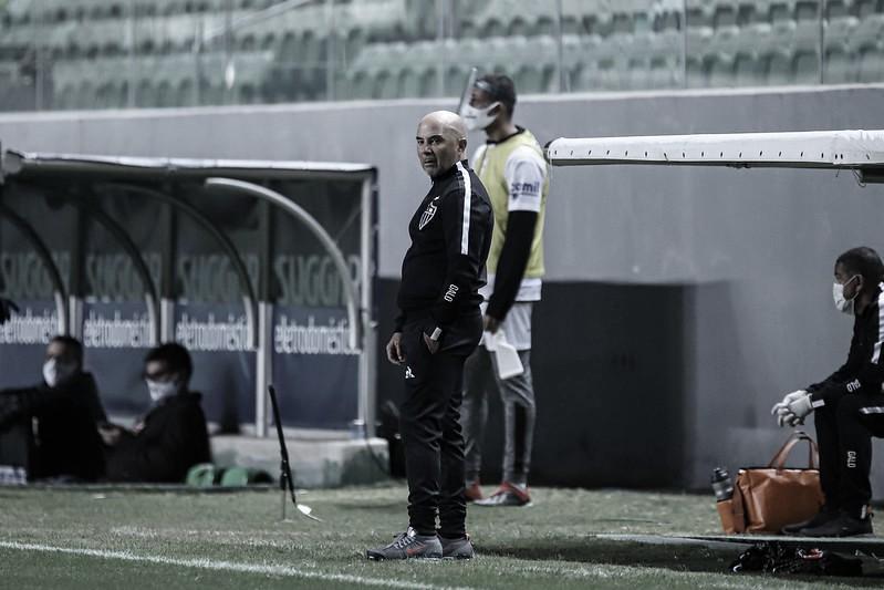 Sampaoli analisa opções do Atlético-MG e já pensa na estreia do Brasileirão