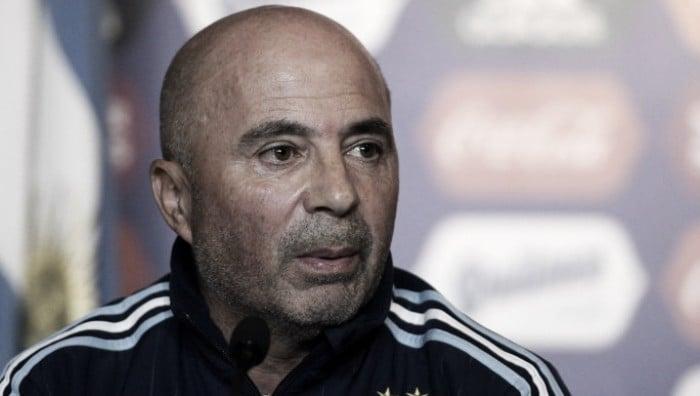 """Jorge Sampaoli:""""En todos los amistosos buscaremos ser protagonistas"""""""