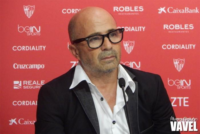 """Sampaoli: """"Lucharemos para que nuestro fútbol sea de la mejor manera posible"""""""