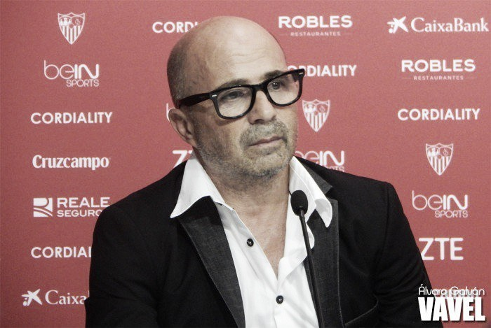 """Sampaoli: """"Sólo debemos pensar en ganar al Leganés"""""""