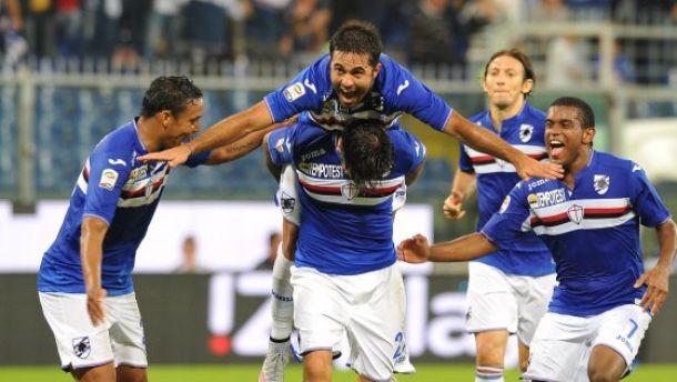 Sampdoria - Bologna 2-0: decidono le reti di Eder e Soriano