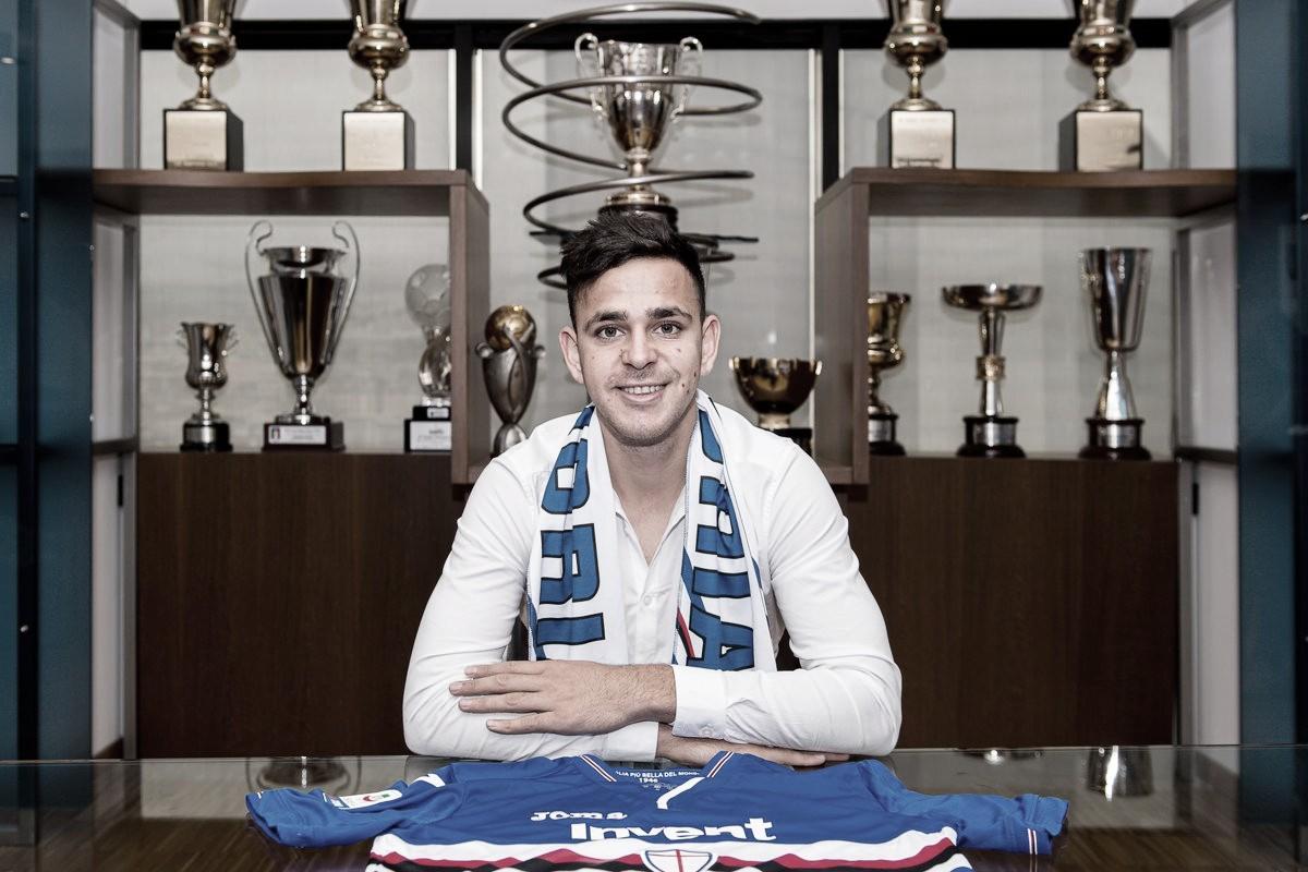 Oficial: Sampdoria contrata Gonzalo Maroni, jovem promessa ex-Boca Juniors