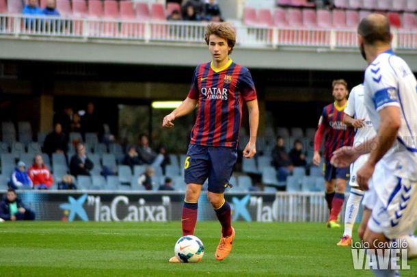 Sergi Samper, el eje del Barça del futuro