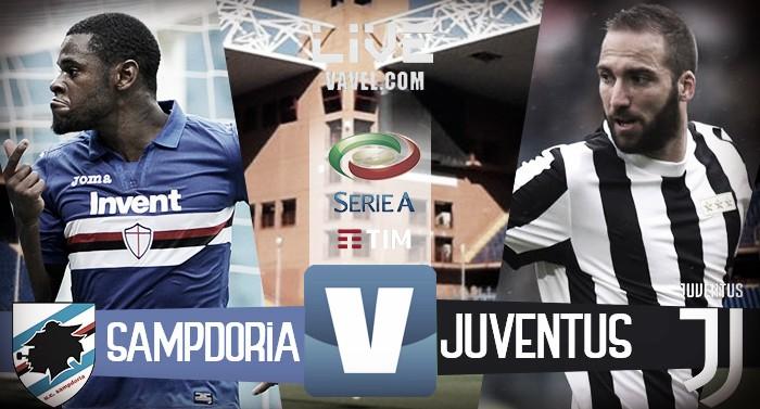 Terminata Sampdoria - Juventus, LIVE Serie A 2017/18 (3-2): Decide Ferrari, rimonta fallita!
