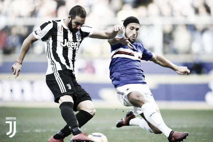 Sampdoria hace respetar su casa ante Juventus