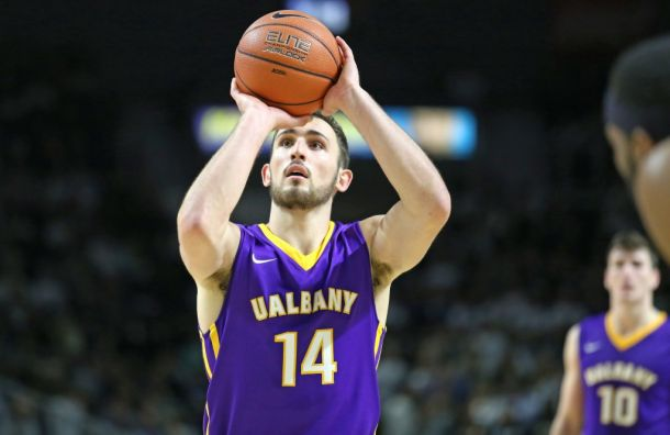 Rowley Leads Albany Great Danes To Victory On Senior Day Over Vermont