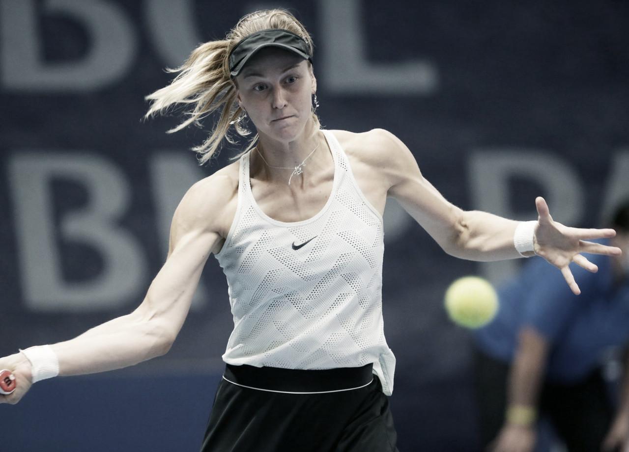 Samsonova bate Bencic pela segunda vez no ano e segue às semifinais em Luxemburgo