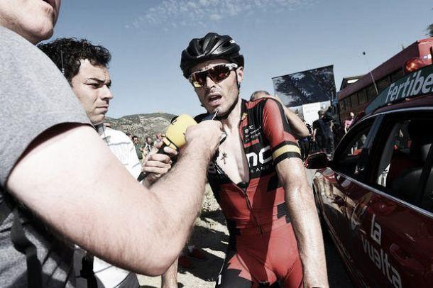 """Samuel Sánchez: """"Cuando me ficharon me dijeron que lideraría al equipo en La Vuelta"""""""