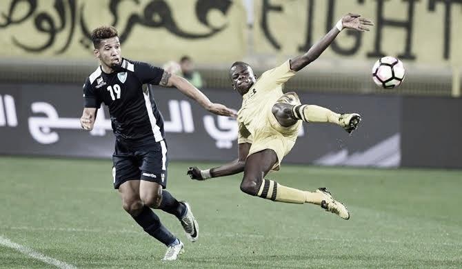 Ex-Fluminense e Sport, atacante Samuel celebra conquistas nos Emirados Árabes Unidos
