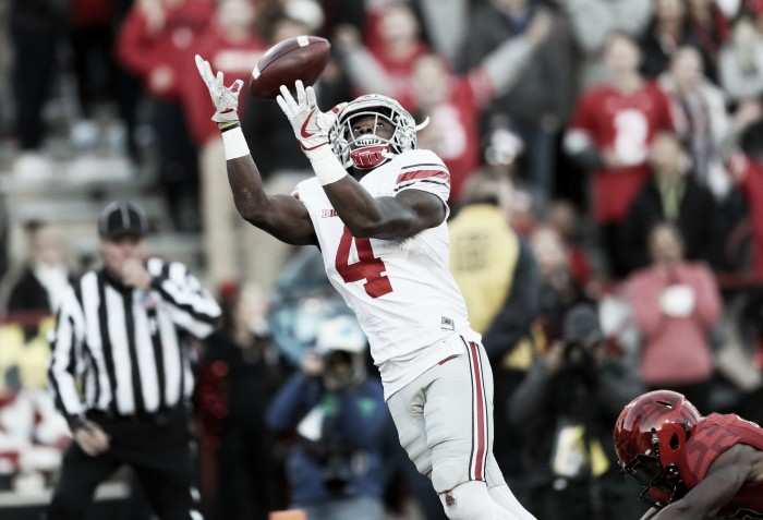 College Football Playoff Rankings: Ohio State move up to number two, with Washington dropping out of top four