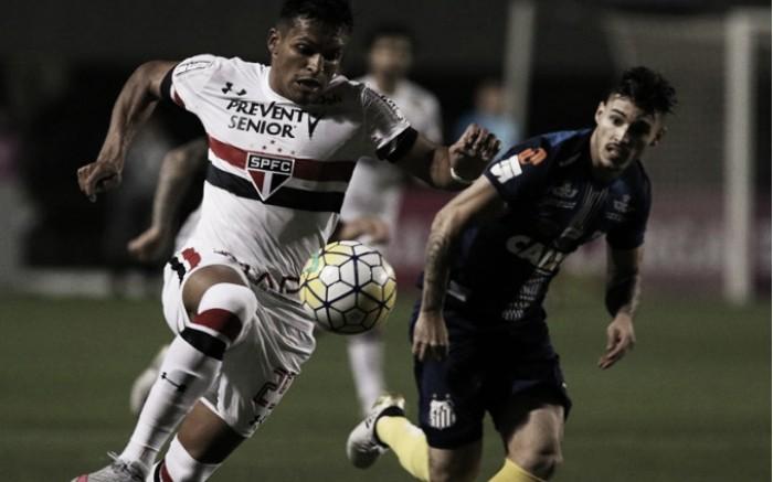 Com gol de Copete, Santos vence São Paulo no Pacaembu