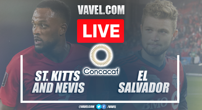 Goals and Highligghts: St. Kitts and Nevis 0-4 El Salvador in CONCACAF Qualifiers 2021