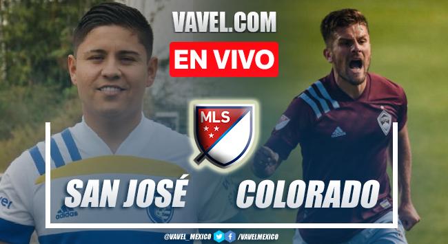 Gol y resumen del San José Earthquakes 0-1 Colorado en MLS 2021