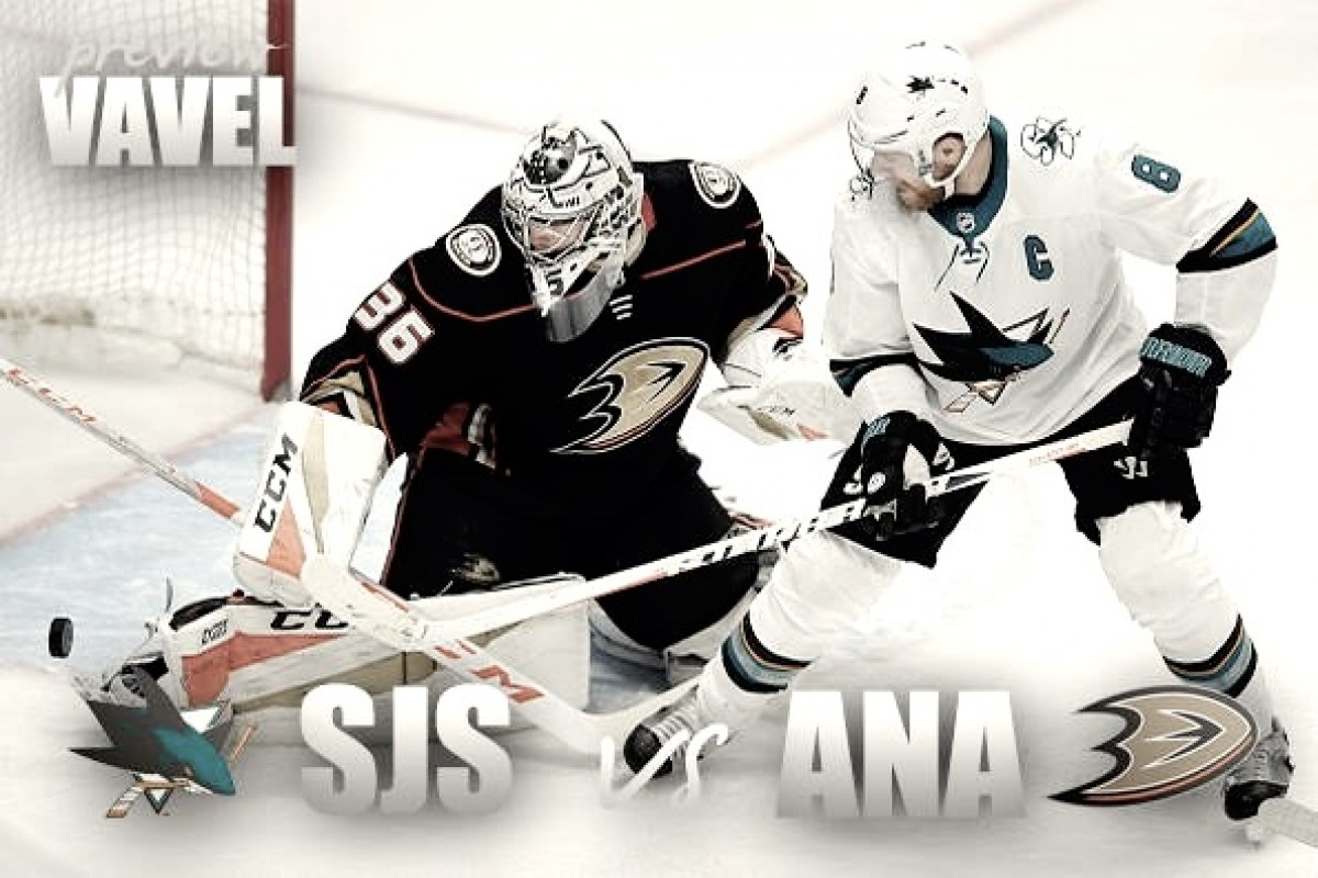 Anaheim Ducks vs San Jose Sharks playoff preview