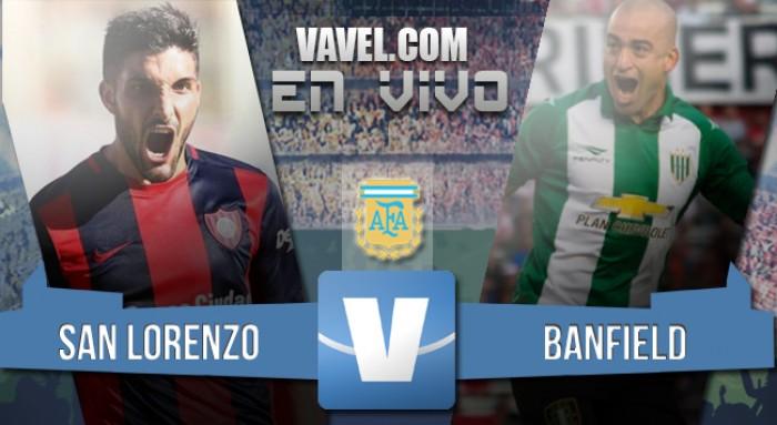San Lorenzo 1- Banfield 1: El Ciclón es finalista