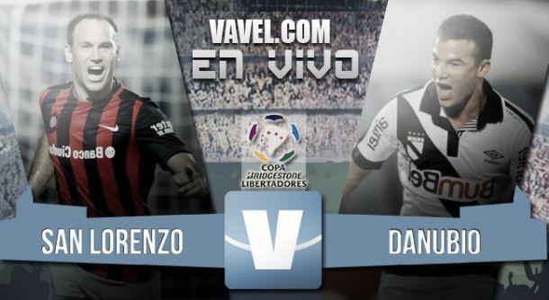 Resultado San Lorenzo - Danubio por la Copa Libertadores 2015 (0-1)