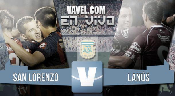 Resultado San Lorenzo - Lanús 2015 (4-0)
